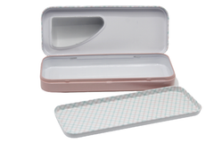 Plain Metallic Pencil Box (HC-5337)
