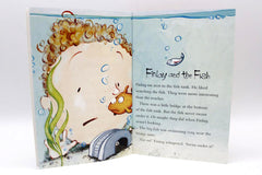 Frozen Slipper Blue #34 For 8 to 9 Years