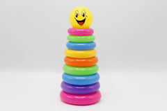 Smiley Plastic Ring Tower (KC3098)
