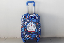 Load image into Gallery viewer, Doraemon 4 Wheels Children Kids Luggage Travel Bag / Suitcase