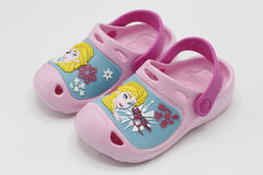 Frozen Crocs Shoes Pink