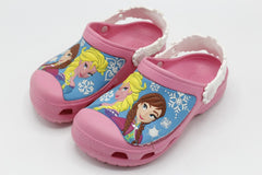 Frozen Crocs Shoes Pink, Blue