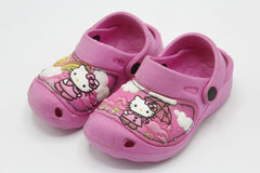 Hello Kitty Crocs Shoes White, Light Pink, Dark Pink
