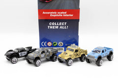 Cars Set Die Cast Metal Pack of 4 (AH-04B)