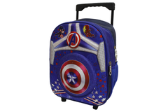 Captain America School Bag Trolley For KG-1 & KG-2 (1212)