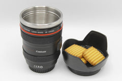 Tea/Coffee Cup Camera Lens Shaped (KC3096)