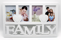 Family 4 Picture Photo Frame (1710)