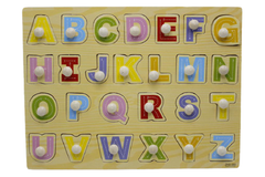 Wooden ABC Board Capital Letters (ZKB-080)