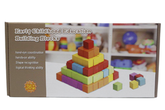 Wooden Early Childhood Education Building Blocks (KC2826)