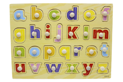 Wooden abc Board small Letters (ZKB-081)