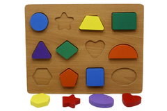 Wooden Shape Board (KC4036)