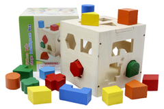 Wooden Fifteen Hole Shape Intelligence Box (KC2390)