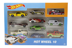 Hot Wheel Replica 10 Cars Set (1604-1)