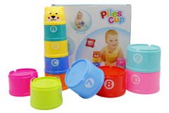Stacking Cups/Piles Cup Baby Toys (618-28)
