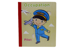 Wooden Occupation Book Puzzle (KC4038)