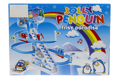 Jolly Penguin Frisk Paradise Battery Operated Toy (777-3)