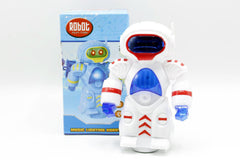 Robot Bump & Go With Lights & Sound Battery Operated (056-1)