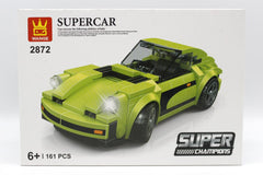 Super Car Green Blocks Set (2872)