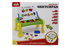Magnetic Learning Drawing/Sketchpad Board (QJ9922)