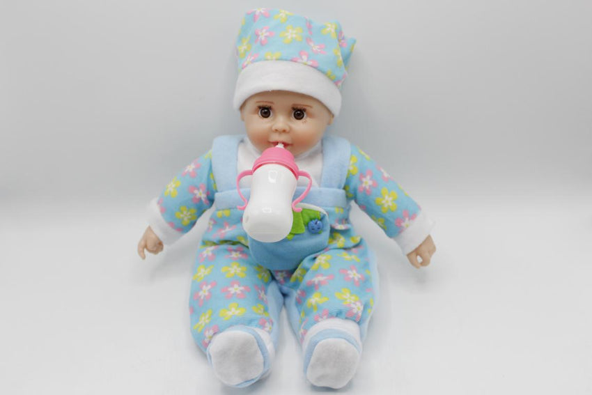 Stuffed Doll With Feeder And Sound (KC3010)