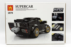 Super Car Black Blocks Set (2878)