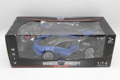 Model Concept Remote Control Car Blue (6688-86A)