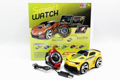 Smart Watch Remote Control Car Yellow (R-102)