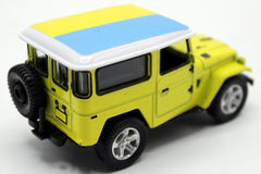 Ukraine Flag Pull Back Die Cast Metal Model Car (M8598B)