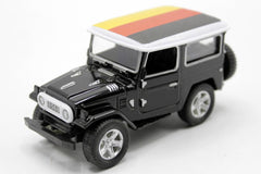 Germany Flag Pull Back Die Cast Metal Model Car (M8598B)