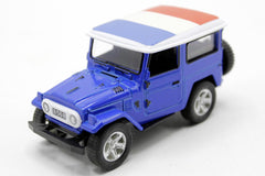 France Flag Pull Back Die Cast Metal Model Car (M8598B)