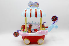 Barbecue Cart Bump & Go Battery Operated Toy (800-136)