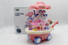 Carousel Cart Bump & Go Battery Operated Toy (800-140)