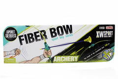 Archery Set Fiber Bow & Arrow Toy (9832A)
