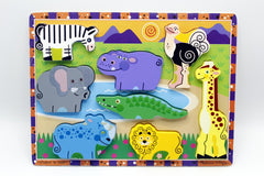 Wooden Wild Animal Shape Board (KC4051)
