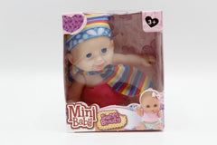 Baby Rubber Small Doll Toy (HT101)