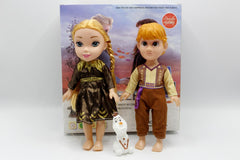 Frozen Anna & Kristoff With Olaf Doll Set (0312)
