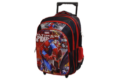 Spider Man School Bag Trolley For Grade-1 & Grade-2 (6018-16)