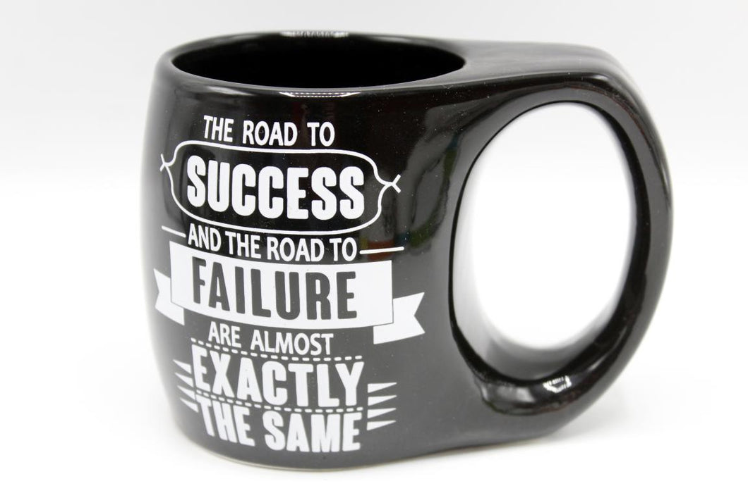 The Road To Success And The Road To Failure Are Almost Exactly The Same Ceramic Mug (BA603)