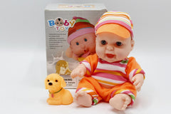 Baby Rubber Doll Toy (8801)