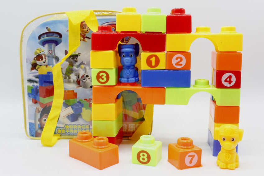 Paw Patrol Intelligent Building Blocks Toy For Kids (777)