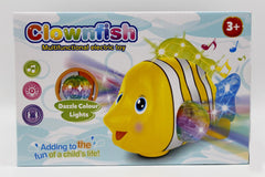 Clownfish Bump & Go With Lights & Sound Battery Operated Toy (ZR143-1)