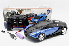 Gainer Bugatti Transformer Remote Control Car (666-1)