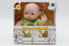 Baby Rubber Small Doll Toy (881)