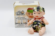 Load image into Gallery viewer, Baby Rubber Small Doll Toy (881)