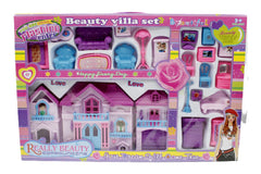 Beauty Villa Doll House Set ( 134-2)
