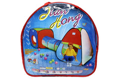 Shuttle Kids Play Tent House With Tunnel (A999-53)