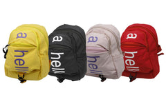 Plain Small Backpack Bag (2011)