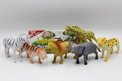 Wild Animal Rubber Set (147-11)
