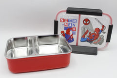 Spider Man Stainless Steel Lunch Box Red (88205)
