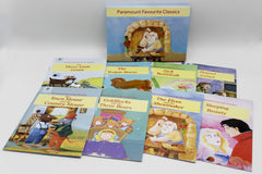 Favorite Classic Tales Pack of 8 Story Books Set